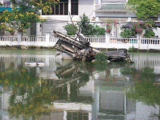 B 52 Wreckage Hanoi Vietnam Atlas Obscura