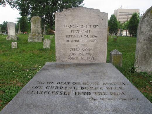 The Fitzgeralds' Gravesite