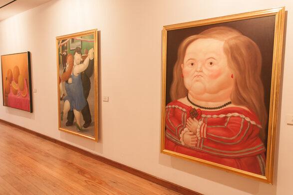 Resultado de imagen para botero museum bogota opening