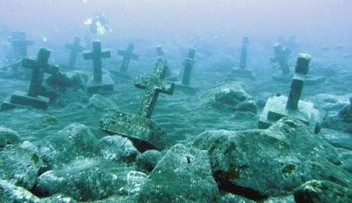 Image result for camiguin underwater cemetery