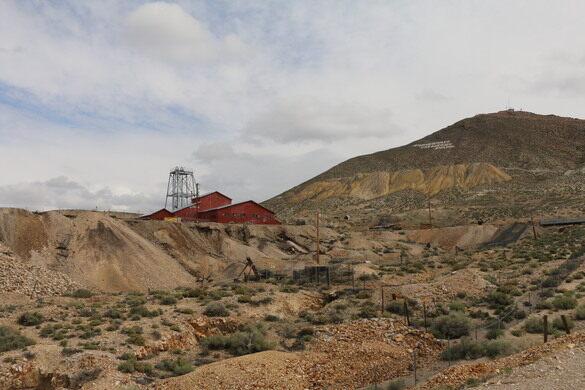 Tonopah Mining Park Tonopah Nevada Atlas Obscura