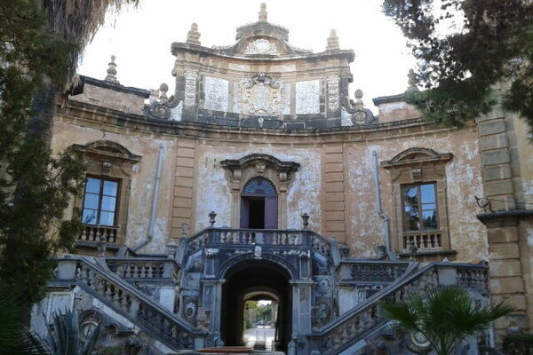 Ateister Crowley house in Cefalu Sicily