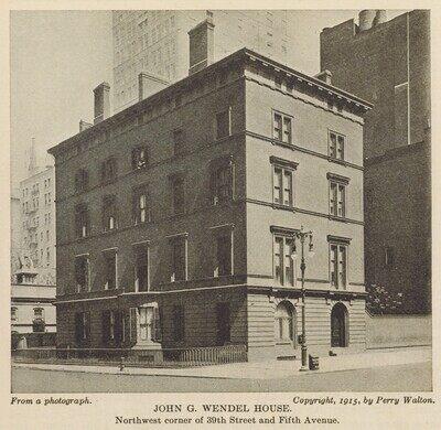 The Wendel House – New York, New York - Atlas Obscura