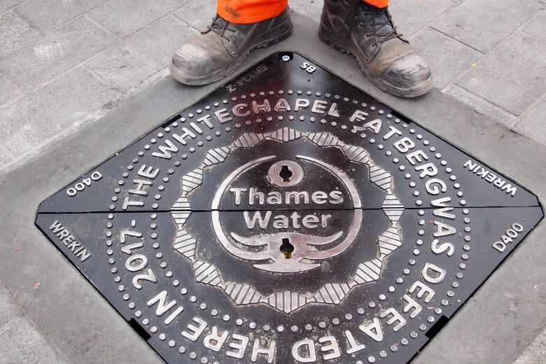 Whitechapel Fatberg Manhole Cover