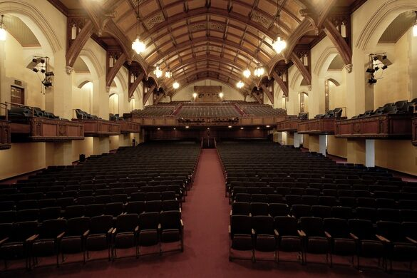 Detroit Masonic Temple – Detroit, Michigan - Atlas Obscura