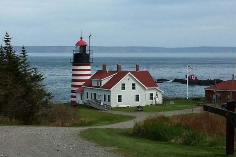 West Quoddy Lighthouse Clock