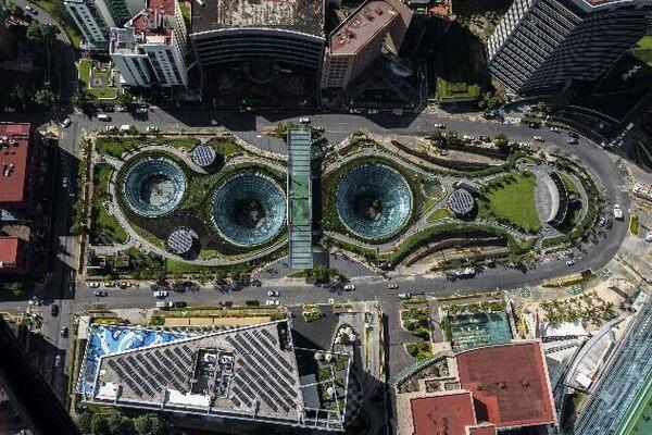 Garden Santa Fe Mexico City Mexico Atlas Obscura