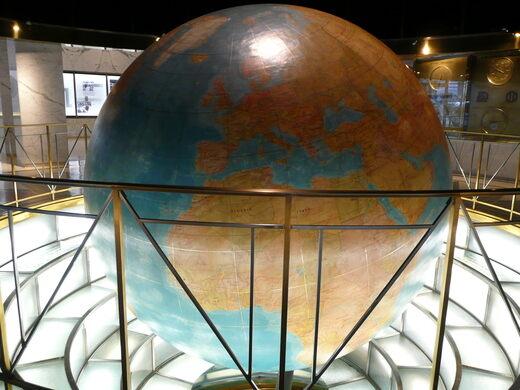 The Daily News Building Globe New York New York Atlas Obscura