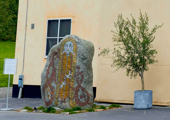 Vikingaliv Runestone Stockholm Sweden Atlas Obscura