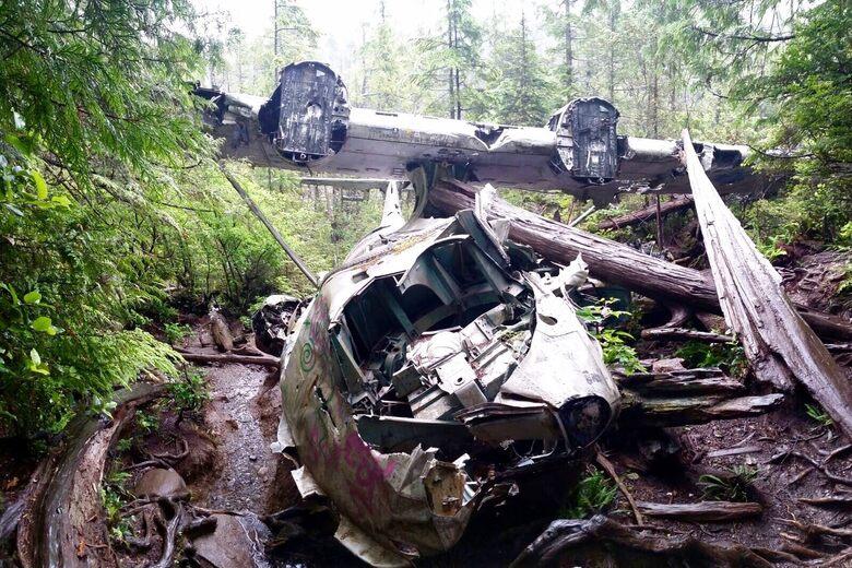 Canso Bomber Crash Site – Tofino, British Columbia - Atlas