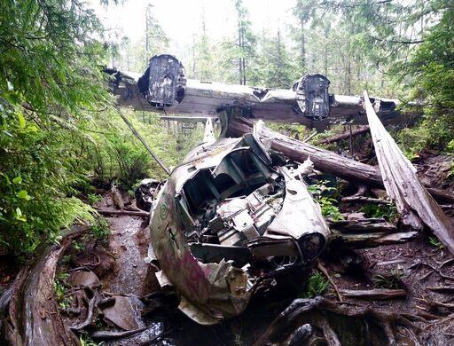 Canso Bomber Crash Site – Tofino, British Columbia - Atlas Obscura