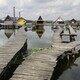 Float houses of Lake Bokodi