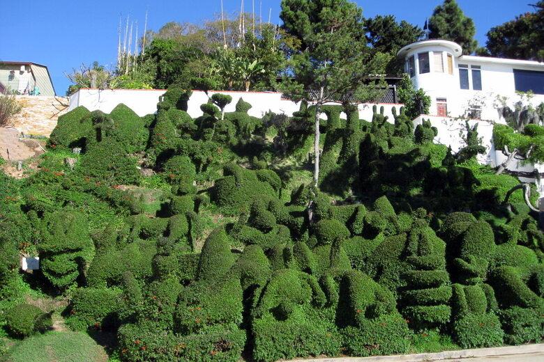 Harper S Topiary Garden San Diego California Atlas Obscura