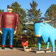 Paul Bunyan & Babe the Blue Ox, Bemidji