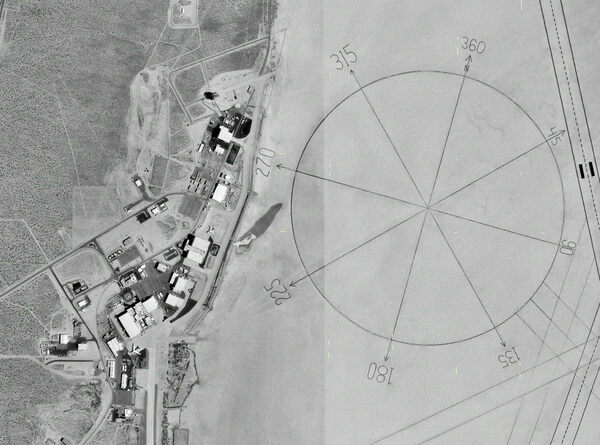 World\'s Largest Compass Rose – Edwards Air Force Base, California ...