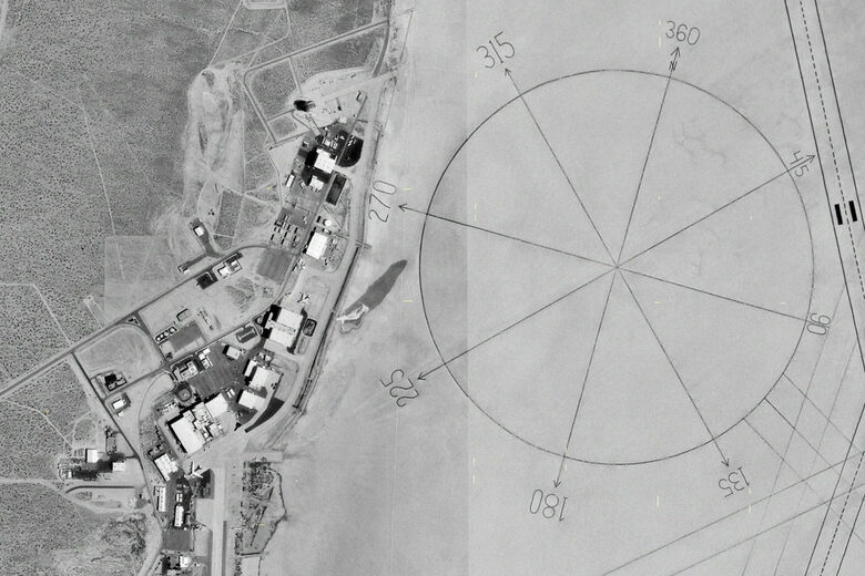 Worlds Largest Compass Rose Edwards Air Force Base California - Edwards afb map