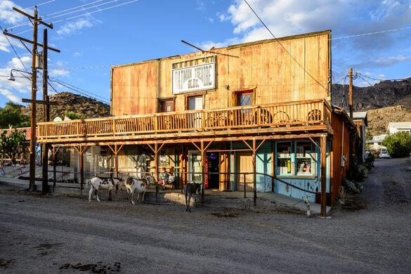 Oatman Ghost Town – Oatman, Arizona - Atlas Obscura