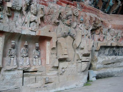 Dazu rock carvings chongqing china atlas obscura