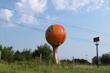 135 ft Peachoid water tower