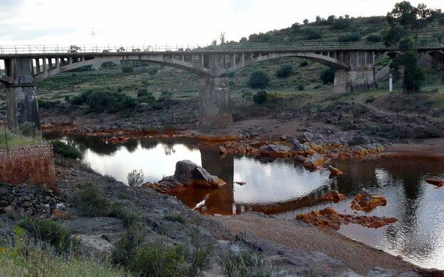 Rio Tinto (Red River) – Palos de la Frontera, Spain - Atlas