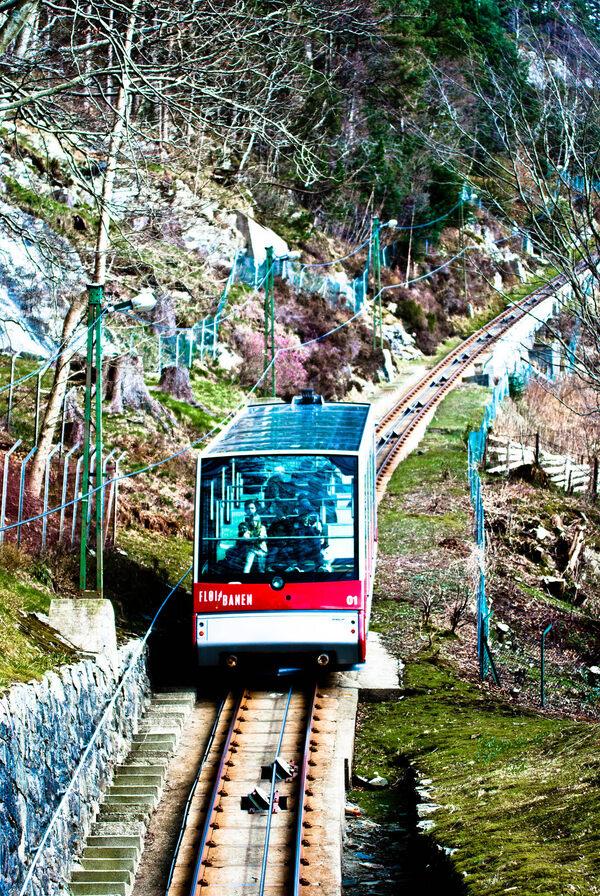 Fl 248 Ibanen Funicular Bergen Norway Atlas Obscura