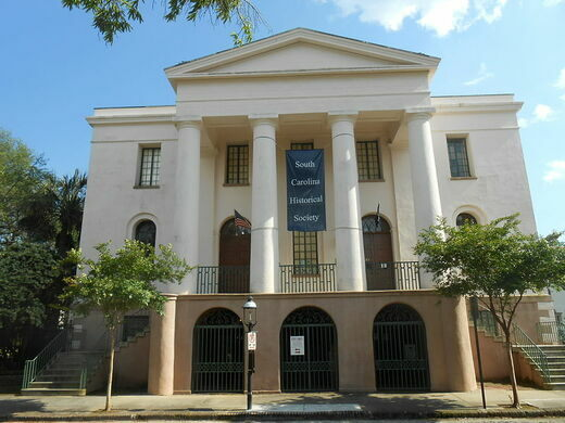 Fireproof Building And South Carolina Historical Society