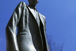 World's Tallest Man Statue