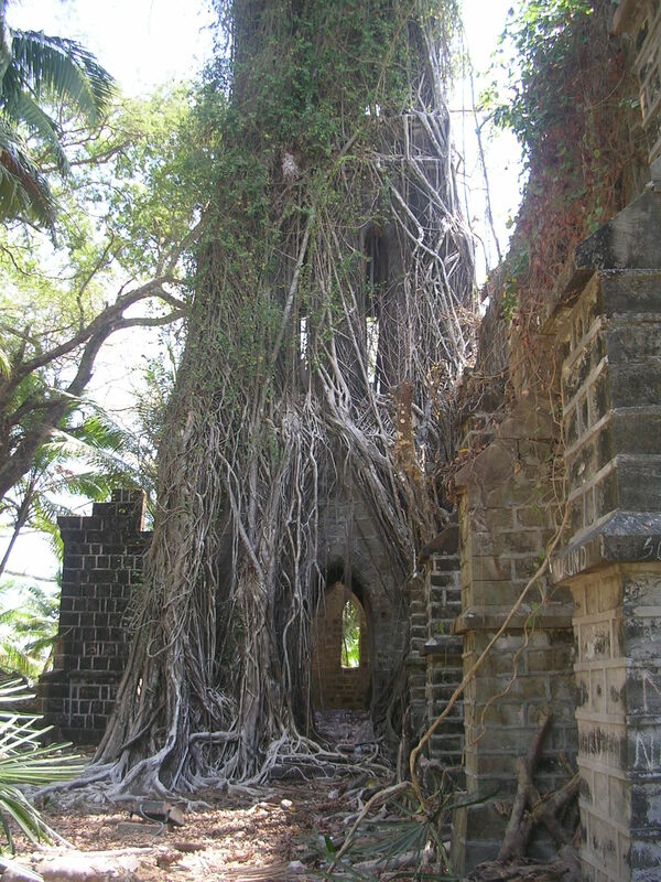 Ross Island South Andaman India Atlas Obscura