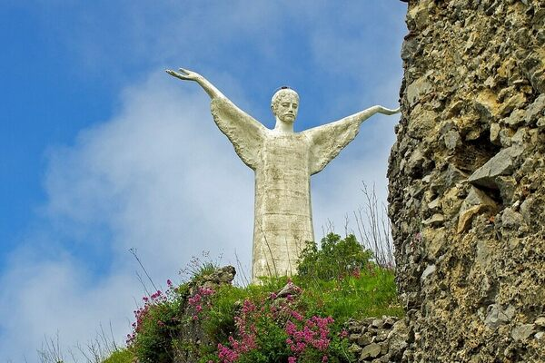 Cristo Redentore (Christ the Redeemer)  in Santa Caterina, Italy