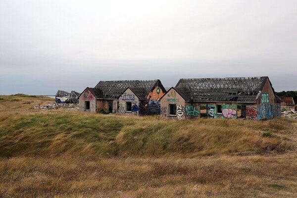 Pirou-Plage Ghost Village