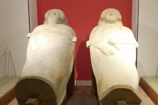 Cádiz Phoenician Anthropoid Sarcophagi in Cádiz, Spain