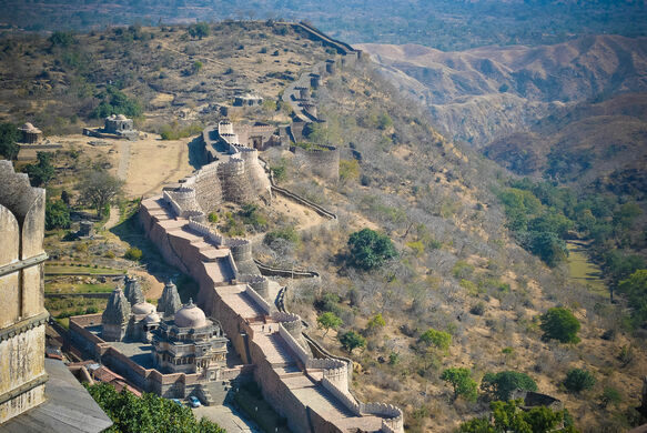 The Great Wall of India  Rajsamand India  Atlas Obscura