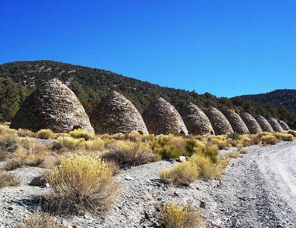 wildrose charcoal kilns death valley california atlas obscura