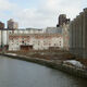 Grain elevators on the Buffalo River.