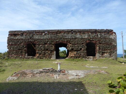 Ruins Of Lazaretto De Isla De Cabras Toa Baja Puerto Rico Atlas