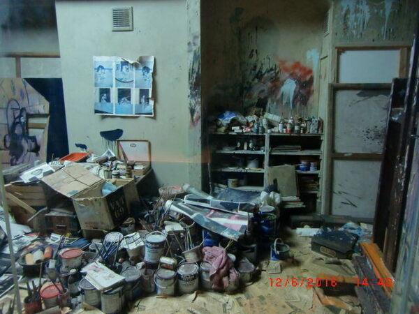 Francis Bacon's Preserved Art Studio  in Dublin, Ireland