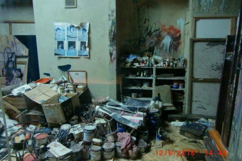 Francis Bacon's Preserved Art Studio