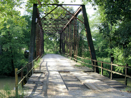 Keys Made Near Me >> Airtight Bridge – Charleston, Illinois - Atlas Obscura