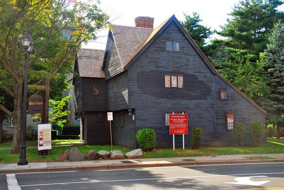 The Witch House Of Salem Salem Massachusetts Atlas