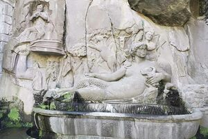 Papacqua fountain - the Queen of Waters