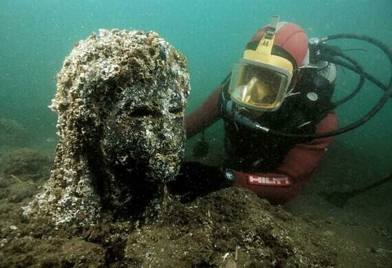 The Lost City Of Heracleion Alexandria Egypt Atlas Obscura