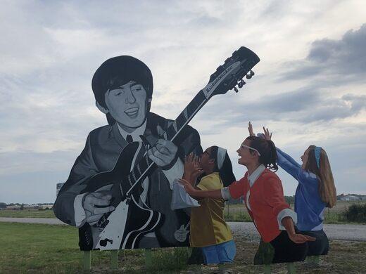George Harrison Commemorative Mural