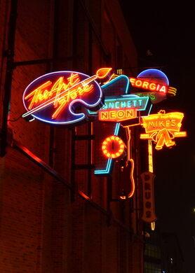 Neon Sign Museum – Edmonton, Alberta - Atlas Obscura