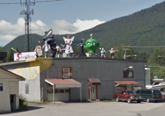 Wizard Of Oz Metal Statues Juneau Alaska Atlas Obscura
