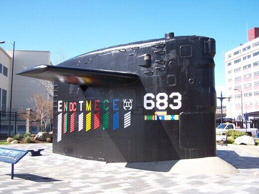 Sail of the USS Parche – Bremerton, Washington - Atlas Obscura
