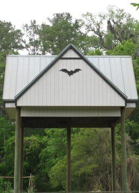 University Of Florida Bat Houses Gainesville