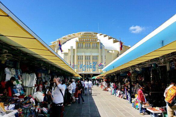 Phsar Thmei (Central Market) – Phnom Penh, Cambodia - Atlas