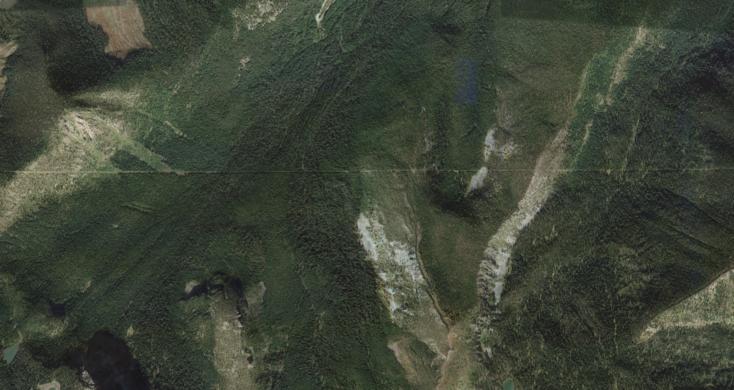 USCanada Border Slash United States Canada Atlas Obscura - Google maps canada us border