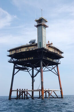 Frying Pan Tower Southport North Carolina Atlas Obscura
