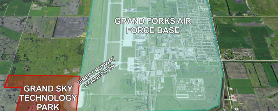 Grand Sky Park On Grand Ford Air Force Base Grand Sky